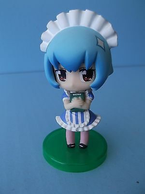 "Evangelion School Mini  ""rei Ayanami"" Maid Outfit 3""in Figure"