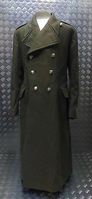 Genuine British Army Double Breasted General Service Khaki Greatcoat  Big Sizes