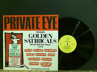 PRIVATE EYE   Presents Golden Satiricals   LP  Peter Cook  etc   Near-mint!