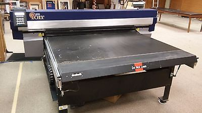 GERBER SOLARA ION x WIDE-FORMAT ~ CATIONIC UV ~ OUTDOOR DURABLE FLATBED PRINTER