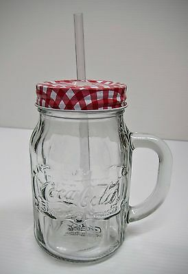 Coca-Cola Mason Jar (20oz) - BRAND NEW