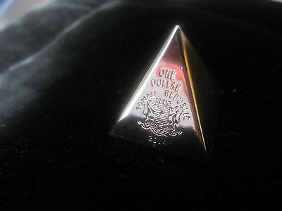 "2014 Somalia  3D Geometric Shape COINS -Year of Math ""Pyramid for Fire"""