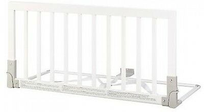 BabyDan Wooden Bed Guard (White).safety guard for kids,dogs etc.