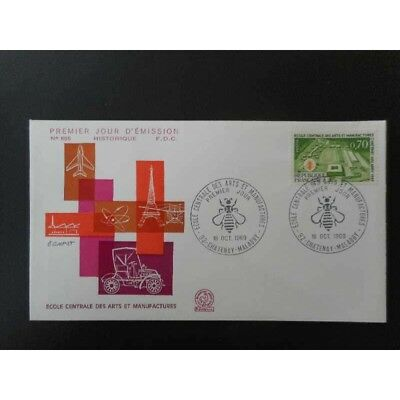 FDC - Ecole centrale des arts et manufactures - 18/10/1969 Chatenay Malabry