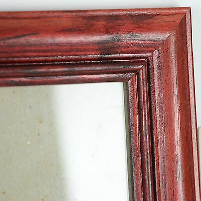 Set of 5 18x22 Framed With Glass and Matting Stained Solid Wood Frame