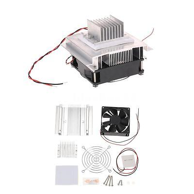 DIY Thermoelectric Peltier Refrigeration Cooling System Kit With Cooler Fan F3N3