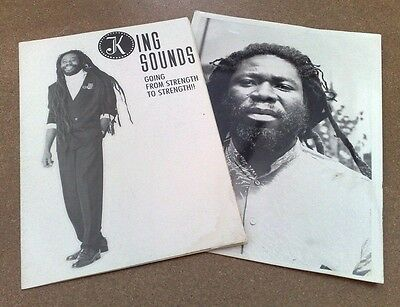 "King Sounds "" Going From Strength To Strength "" Rare Promo Pack 4 Uk Lp Vza 001"