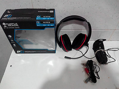 Cascos Turtle Beach - Ear Force P11 - PS3/PC