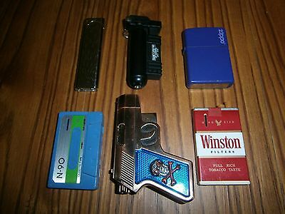 Lot Of 6 Novelty Lighters