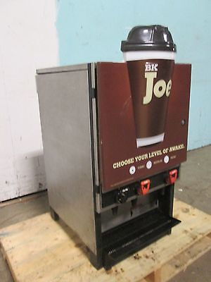 """dagma"" Commercial Refrigerated Concentrate - Hot Coffee/decaf/water Dispenser"