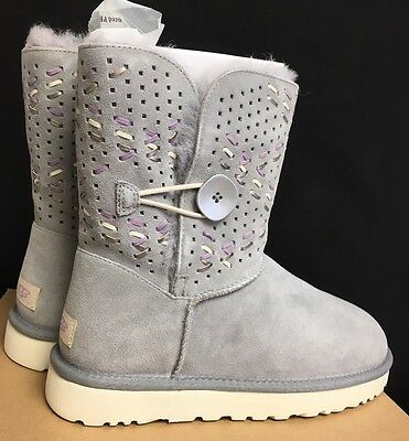 3d4f30f5685 UGG AUSTRALIA PENCIL LEAD TEHUANO BAILEY BUTTON II SHEEPSKIN BOOTS multiple  size