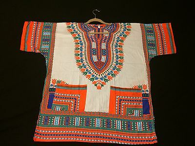 African Dashiki ,men' S- Women' S-T Shirt-Hippie-Festival -Colorfull-Top- Summer