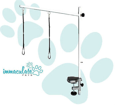 NEW Adjustable Grooming Table Arm (3 SIZES) - 2 x FREE NOOSES / RESTRAINTS