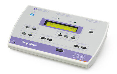 Amplivox 116 Portable Audiometer w/ Current Calibration Certificate