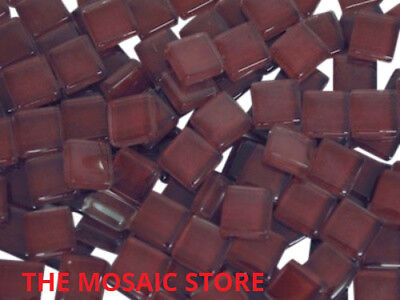 Dark Purple Crystal Glass Mosaic Tiles 1cm - Mosaic Art Craft Supplies