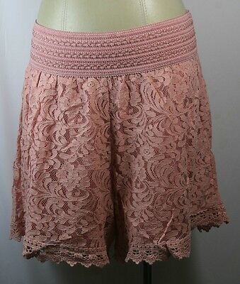 Plus size shorts,beautiful lace w/lining,black,beige,burgandy,maude,size1X,2X,3X