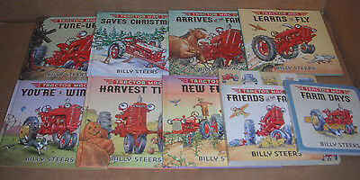 Lot of 9 Tractor Mac Hardcover Books by Billy Steers NEW