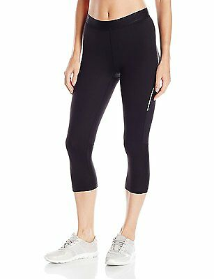 NEW 2XU Women's Trainer 3/4 Tights, Running, Exercise Black Size  Medium  M