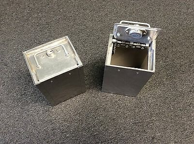 Security Diamond Steel box w/lock