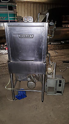 Hobart Upright Pass Through Commercial Dishwasher AM-12 Electric 200-240 1 Phase