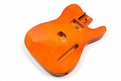 Cuerpo naranja guitarra Telecaster tilo -Orange Basswood TL electric guitar body