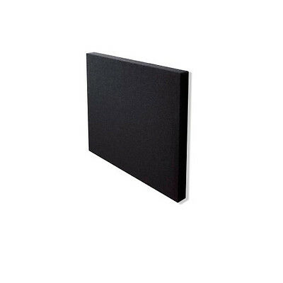 Pack 4 Panel reductor de ruido soporte mural 600x600mm negro