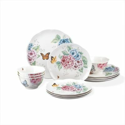 New Lenox Butterfly Meadow Hydrangea 12 Piece Set