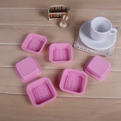 Making Soap Stand New Style Rectangle Silicone Mold Baking Soap  Mould Cake
