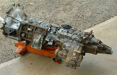 Pajero NH - NJ 6G72 V6 5 Speed Gearbox & Transfer Case (Super Select)