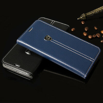 Luxury Flip Leather Wallet Case Stand Cover For iPhone 7/7 Plus/Samsung S7/Edge