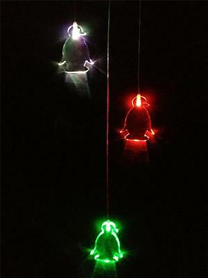 Penguin LED Drop Night Light - Mobile Lamp with Colour Changing Children & Baby