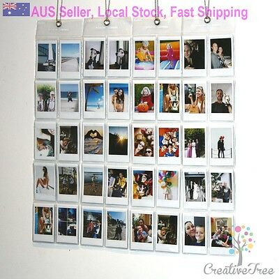 Wall Hanging Photo Album holds 10 INSTAX MINI size photos each- save on multiple