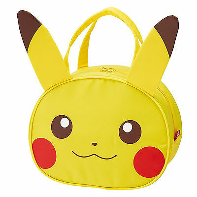 Pokemon Pikachu Monsters Insulated Lunch Bag Ear Tote with 2017 New