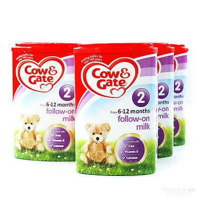 Cow & Gate Follow On Milk Stage 2 From 6 Months+ 900g 4 Pack