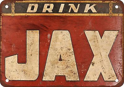 "7"" x 10"" Metal Sign - Jax Beer - Vintage Look Reproduction 2"