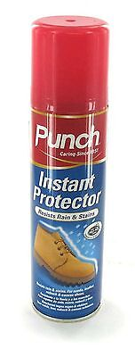 Punch Instant Leather Suede Waterproof Shoe Protector Spray 200ml