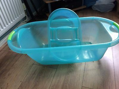 Turquoise baby bath & top and tail bowl