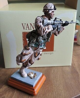 VANMARK American Heroes Engaging The Enemy Figurine w/ Authenticity Certificate