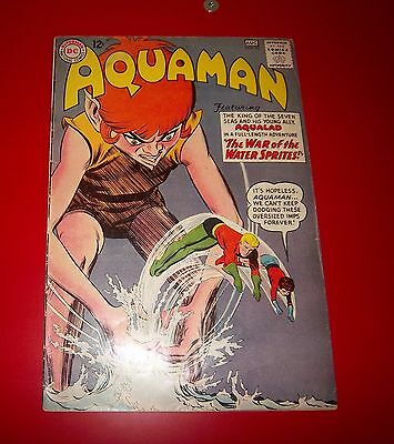 Aquaman #10 W/ Aqualad - The War Of The Water Sprites Silver Age 1963