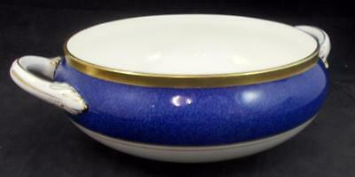 Coalport ATHLONE BLUE Covered Vegetable Bowl Base Only Bone GREAT CONDITION