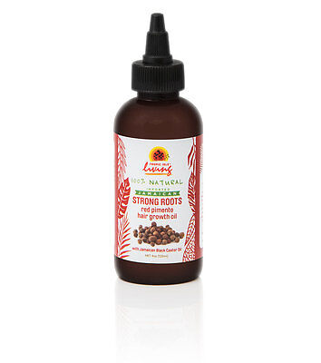 [Tropic Isle Living] Jamaican Strong Roots Red Pimento Hair Growth Oil 4Oz