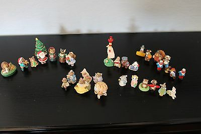 90s Hallmark Merry Miniatures Figurines Lot of 31 Cinderella Valentines Fall