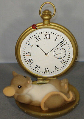 Charming Tails Mouse Figure Time To Enjoy 89381 Rare Retired NIB