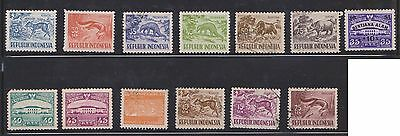 (U13-3) 1945-2001 Indonesia mix of 60stamps value to 5000R (A)