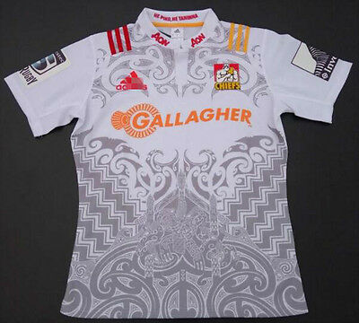 New Zealand 2016-17 away chiefs rugby jersey Shirt Tops Quality SIZE: S-3XL