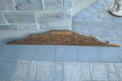 Solid OAK Wood Cornice - United Church of Canada (Architectural Salvage)
