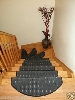 Set of 15 Beautiful Carpet Stair Mats - made in Europe - ON SALE! ONLY in JUNE!