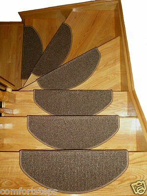 Set of HIGH QUALITY Carpet Stair Mats - made in Europe - LIMITED TIME ON SALE!
