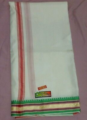 Men's Dhoti, 4.5 Meters  Indian Fashion, Fast delivery *SALES* (ONLY 1 INSTOCK)