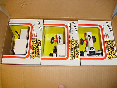 1/32 Case/David Brown Dealership Tractor Set by ERTL W/Boxes & Shipping Box!